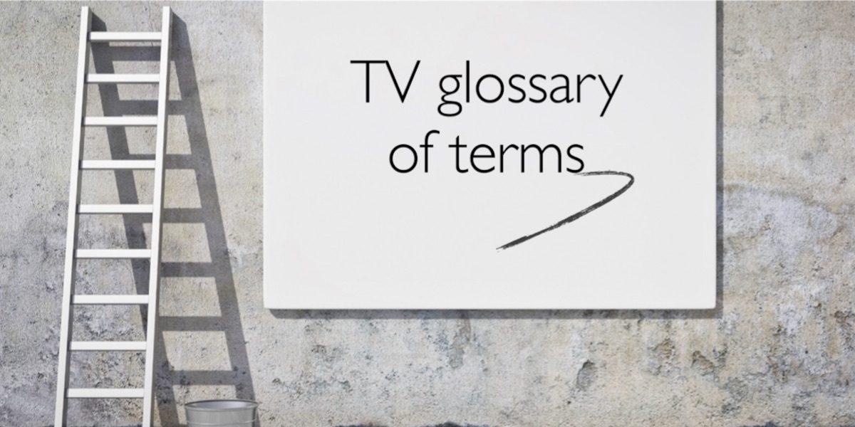 tv advertising glossary