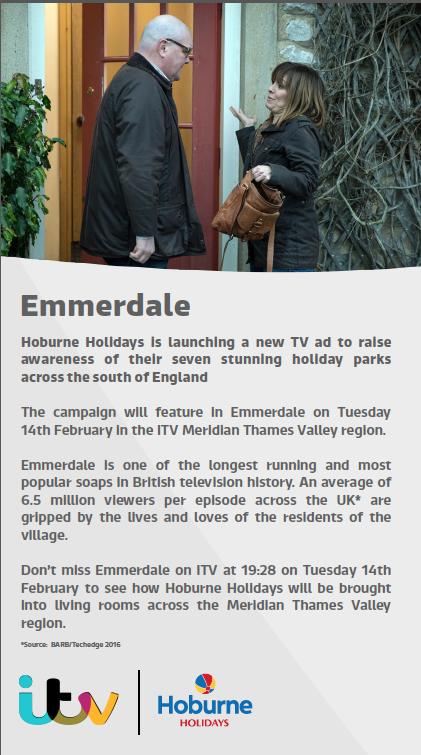 Emmerdale Advertising