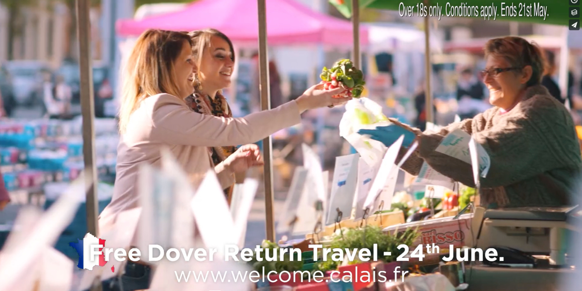 Calais Tourist Board Television Advertisement Video