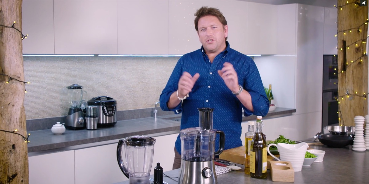 James Martin cookware tv advert