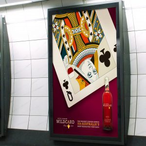 6 Sheet London Underground