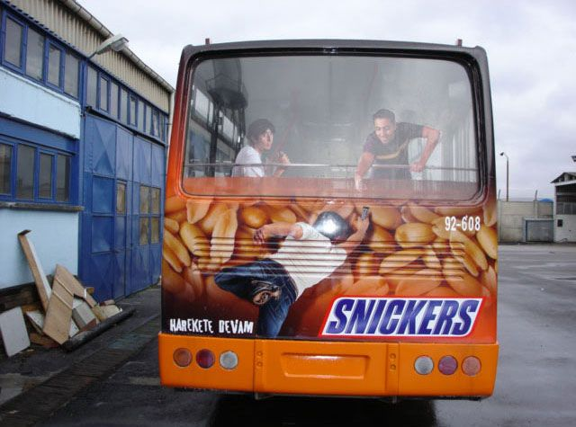 Bus Rear Advertising