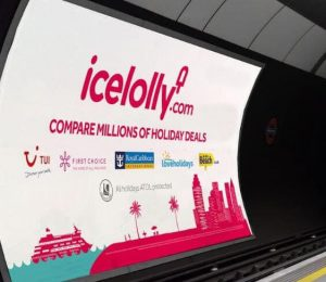Icelolly at London Underground